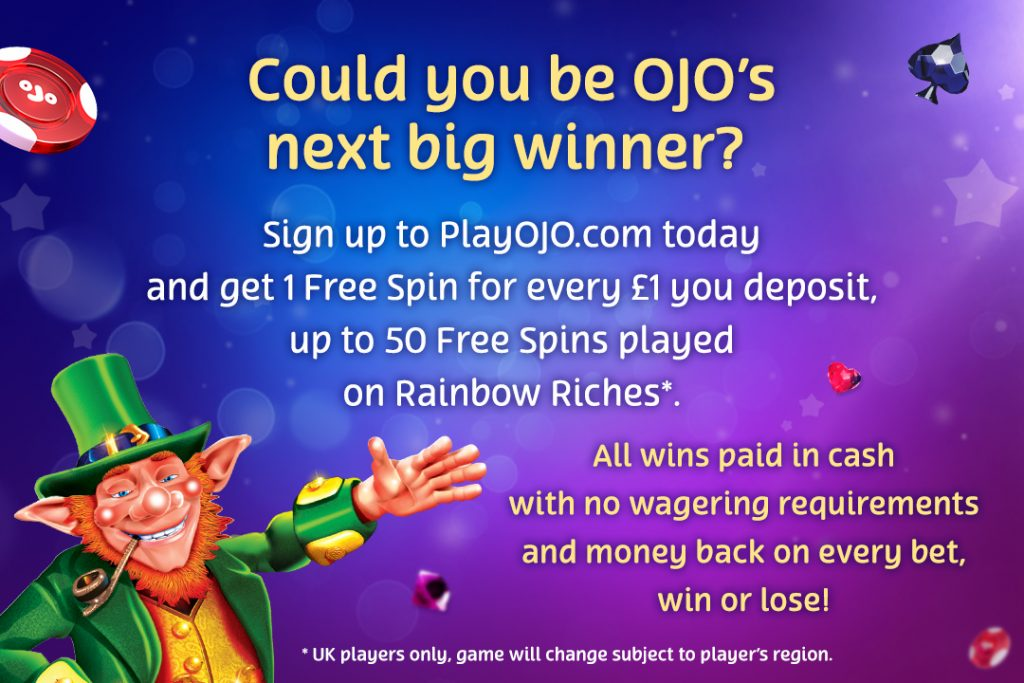 PlayOJO Big Winner Blog: A Wish Upon a Jackpot Came True!