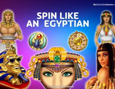 EGYPTIAN SLOTS THAT'LL SEND YOUR PHARAOHMONES WILD!
