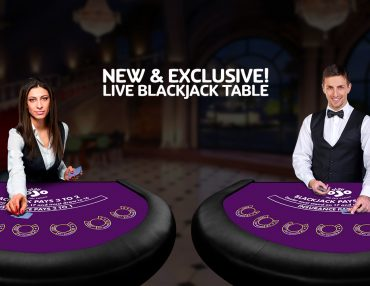 LIVE BLACKJACK EXCLUSIVELY FOR YOU!