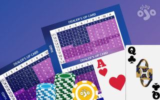 Blackjack charts that give the perfect play every time