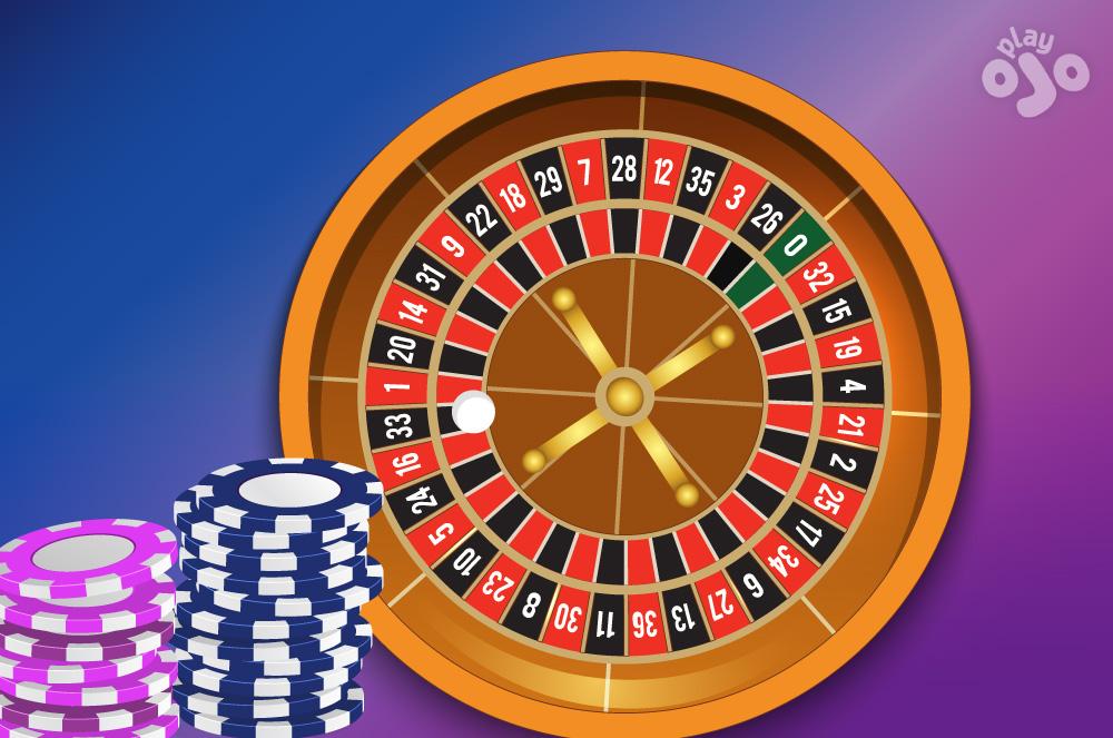 European roulette wheel
