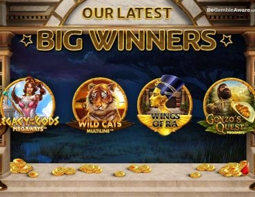 MEET THE PLAYERS BEHIND OUR LATEST BIG WINS!