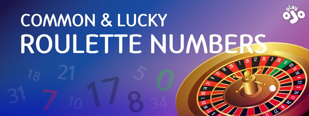 COMMON & LUCKY ROULETTE NUMBERS