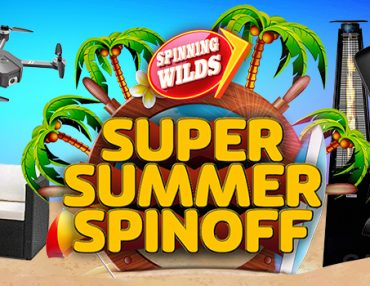 £10,000 OF PRIZES UP FOR GRABS IN OUR SUPER SUMMER SPINOFF