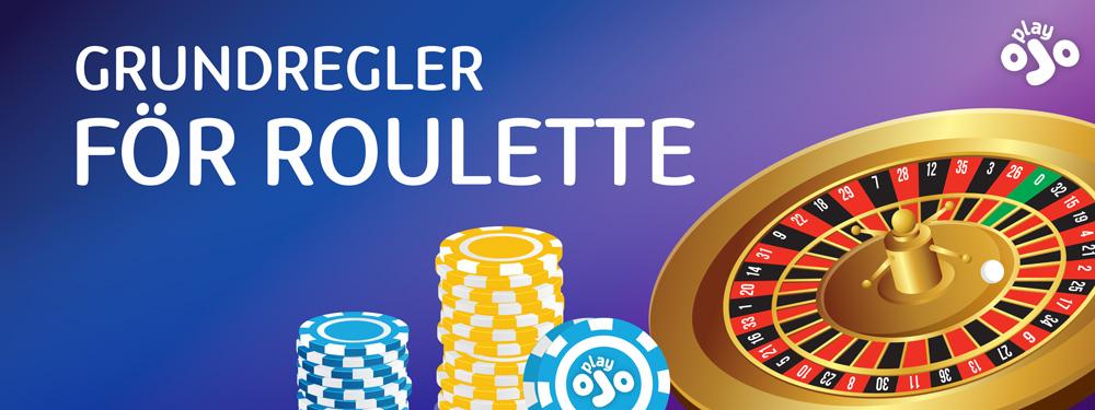 Grundregler for roulette